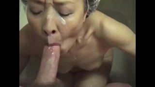 Mature Japanese Cocksucker